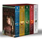 George R. R. Martin's A Game of Thrones 5-Book Boxed Set (Song of Ice and Fire  Series): A Game of Thrones, A Clash of Kings, A Storm of Swords, A Fea